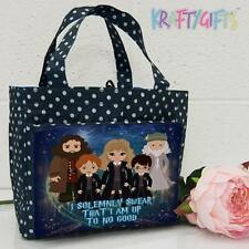 Personalised Harry Potter Girls Ladies Polka Dot Spotty Insulated Lunch Bag ET05