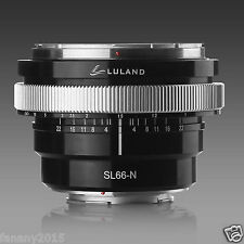 Rollei SL66 Adapter Ring for /Rollei SL66 lens to Nikon F mount