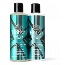 British Hair Ample Volume Shampoo and Conditioner Duo 8 oz Each