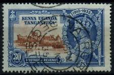 Kenya Uganda & Tanganyika 1935 SG#125, 30c KGV Silver Jubilee Used #D31220