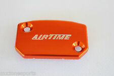 AIRTIME FRONT BRAKE RESERVOIR COVER CAP KTM SX XC XCW EXC XCF 125-450-ORANGE