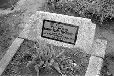 Negativ-Alsfeld-Hessen-Friedhof-Grabstein-1930er Jahre-4