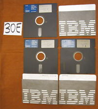 3 Floppy disc 5.25 inch 5 1/4 Commodore 64 IBM 6023450 scritte Giochi 2 19 21