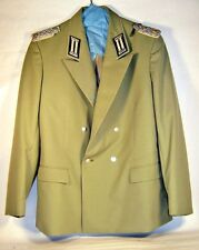 East German Germany Army Infantry Field Officer Major Gala Jacket NVA DDR GDR