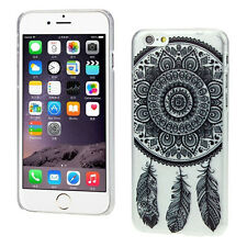 Black Dream Catcher Transparent Hard Case Cover Skin for Apple iPhone 6s 4.7""