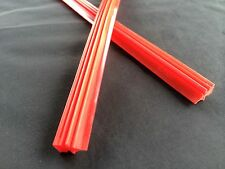 "2pcs. Car Superior Quality Silicone Wiper Blade (Refill) 26"" (6mm.) Red Color"