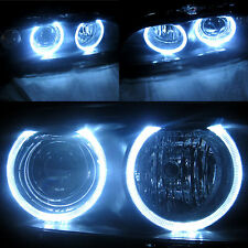 For 97-03 BMW E39 5-Series Angel Eye Halo Projector Headlights Head Lights Set