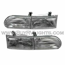GULF STREAM YELLOWSTONE 2005 2006 PAIR HEADLIGHTS HEAD LIGHTS FRONT LAMPS RV SET