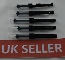 5 X PARKER STYLE STANDARD FOUNTAIN PEN PISTON  INK CONVERTER .