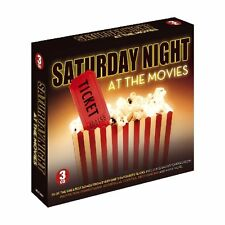 SATURDAY NIGHT AT MOVIES NEW 3 CD GREATEST HITS FROM FILMS ~ POP + ROCK & ROLL