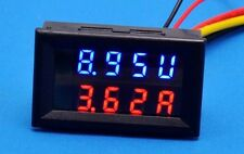 0-100V 10A LED DC dual display digital current and  voltage meter #4
