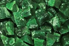 2 Pounds of Natural Green Imperial-Z Rough Stones - Cabbing, Tumble Rocks, Reiki