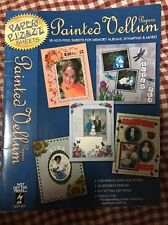 Paper Pizazz Painted Vellum Scrapbooking Papers Hot Off The Press