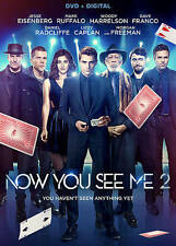 Now You See Me 2  [DVD + Digital], Excellent DVD, Sanaa Lathan, Jay Chou, Lizzy