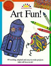 Art Fun! by North Light Books Art Activities for Kids (1997, Paperback) Like New
