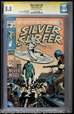 SILVER SURFER #10 CGC 5.5 OWW SS STAN LEE CGC #11197123006