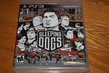 Brand New Factory Sealed PS3 Sleeping Dogs SHIP FREE US FAST