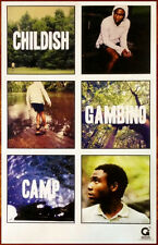 CHILDISH GAMBINO Camp Ltd Ed New RARE Poster Hip-Hop Rap Donald Glover Community