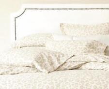 Ballard Designs Tan Leopard Flannel Sheet Set - Full
