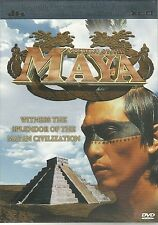 MYSTERY OF THE MAYA DVD WITNESS THE SPLENDOUR OF THE MAYAN CIVILIZATION
