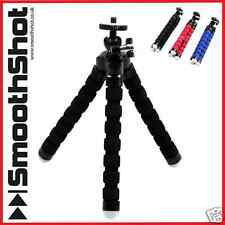 FLEXIBLE TRIPOD OCTOPUS TRIPOD GRIP STAND HOLDER MOUNT DSLR DIGITAL CAMERAS
