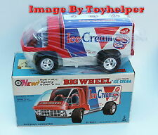 Vintage Taiyo Bump N Go Ice Cream Big Wheel Van Truck NIB Japan