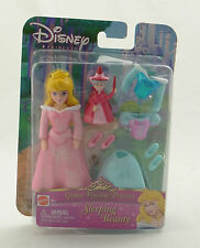 DISNEY ~ GLITTER PRECIOUS PRINCESS SLEEPING BEAUTY ~ 2005 J0167 Playset ~ NEW