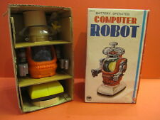 ALL ORIGINAL BANDAI COMPUTER ROBOT NEVER REMOVED FROM BOX , EX SHOP STOCK