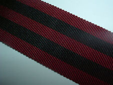 MEDAL RIBBON-BRITISH SILK/COTTON RIBBON FOR THE INDIAN GENERAL SERVICE M 1854