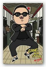 POP MUSIC POSTER Gangnam Style PSY Animated