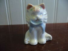 Japan Small Vintage Hand Painted Porcelain Kitty Cat Figurine