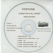 (DG230) Fortune, Under The Sun / Gimme - 2008 DJ CD
