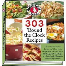 303 'Round the Clock Recipes: Three titles in one!, , Gooseberry Patch, Excellen