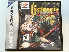 Castlevania Circle of the Moon - GBA - Replacement Case - No Game