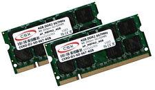 2x 4GB = 8GB Speicher RAM DDR2 667Mhz Acer Notebook TravelMate 7520 7530