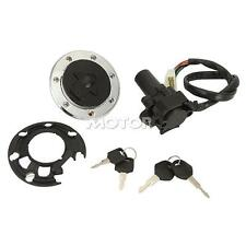 New Ignition Switch Fule Cap Key Set for Kawasaki ZX-6R 2000-2002