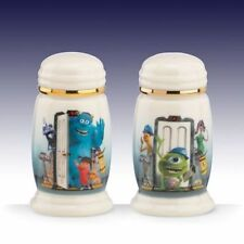 Lenox  Disney Pixar's Monsters, Inc  Salt & Pepper Shaker w/ Gold Trim