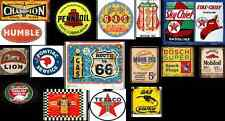 ho scale building gas station decals