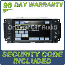 Chrysler Dodge Jeep MyGig Navigation Radio GPS DVD Sirius 30GB 430N RHB Uconnect