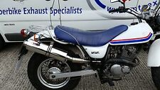 Suzuki RV125 Van Van  2003- Stainless Round ROAD LEGAL / Race MTC Exhaust