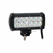 "7"" 36W Cree Led Work Light Bar Flood Beam Offroad Driving for SUV Boat Truck"