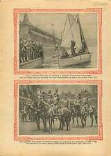 Lifeboat Rotterdam-London-New York / Cuirassiers Reichshoffen 1928 ILLUSTRATION