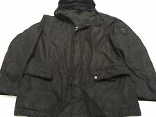 Authentic Rare STRELLSON Swiss Cross Men's Rain Jacket With Hoodie Coat