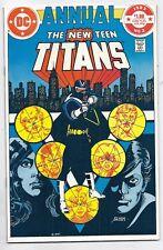 (1983) NEW TEEN TITANS ANNUAL #2 FIRST VIGILANTE! CHESIRE! LYLA! PEREZ ART! FINE