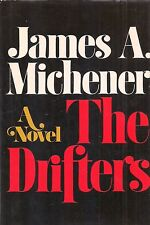 """JAMES MICHENER """"The Drifters"""" (1971)  SIGNED First Printing of the FIRST EDITION"""