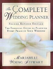 Marjabelle Stewart - Complete Wedding Planner (2002) - Used - Trade Paper (