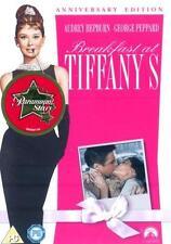 BREAKFAST AT TIFFANY'S Blake Edwards*Audrey Hepburn Romantic Comedy DVD *EXC*