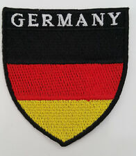 GERMANY Nation Country Flag Embroidered Sew/Iron On Patch Patches