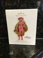 2009 Hallmark Barbie As Corinne In The Three Musketeers Ornament NEw
