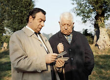 PHOTO LA HORSE - JULIEN GUIOMAR & JEAN GABIN - 11X15 CM  # 36